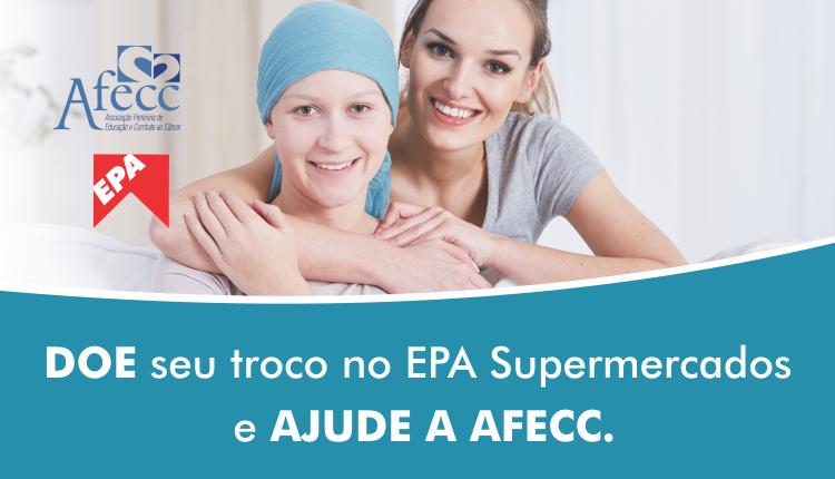 Epa, AFECC e Você: unidos numa grande rede solidária.