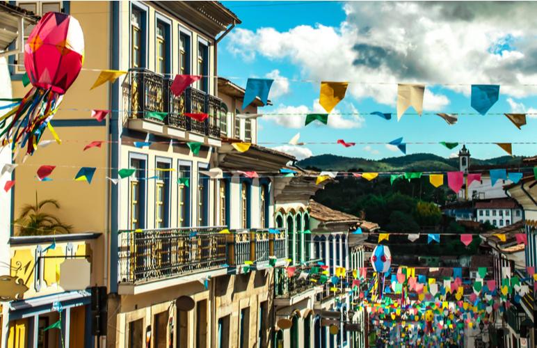 Festa junina bandeirinhas