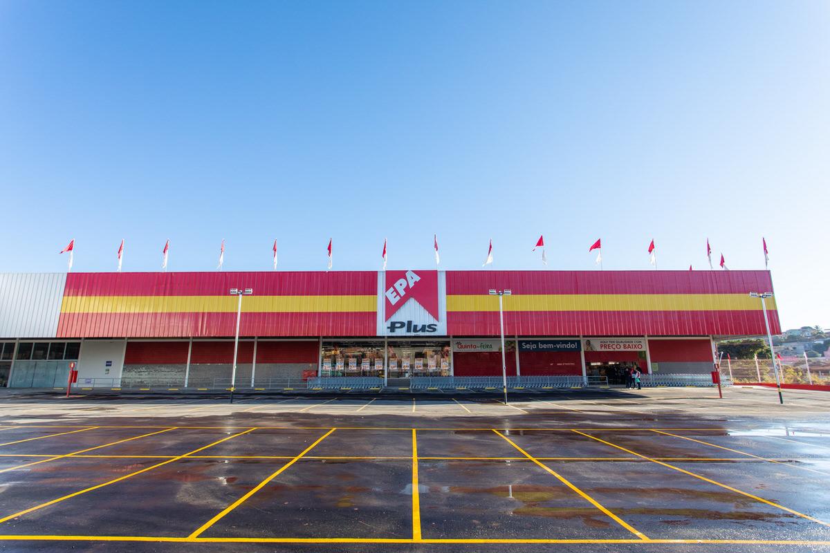 entrada do supermercado epa
