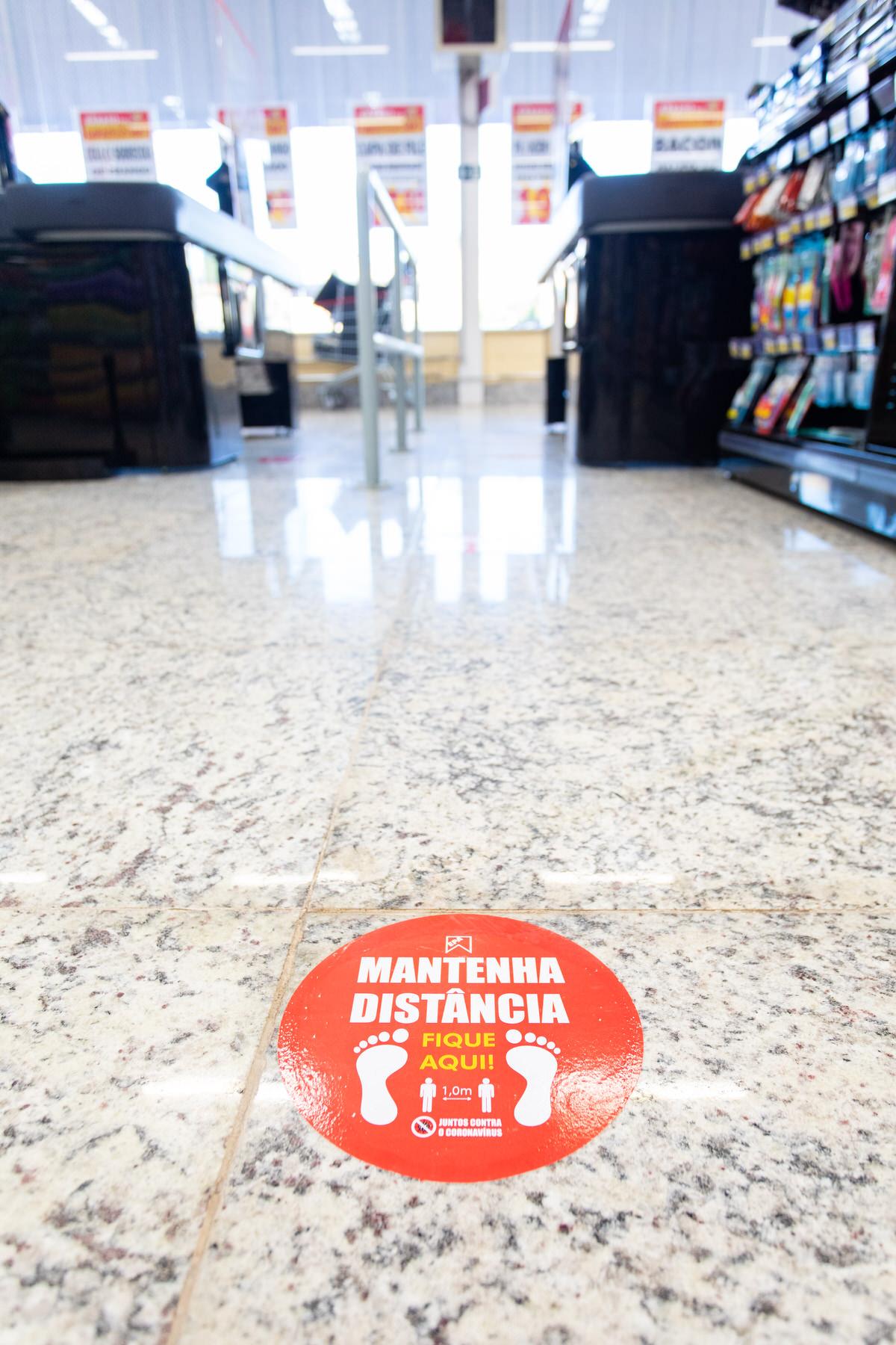 regras de segurança covid19 em supermercados