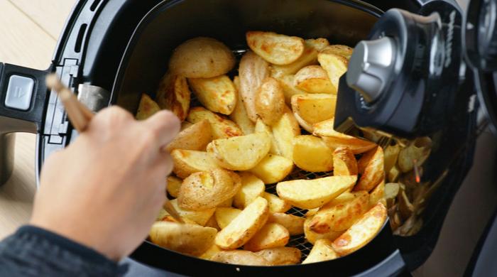 batata frita rústica na airfryer como fazer