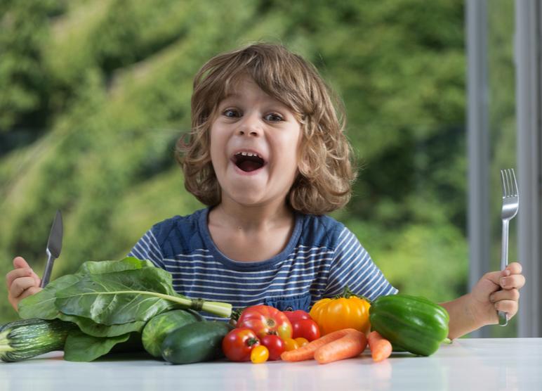 Como incluir frutas e legumes na alimentação das crianças?