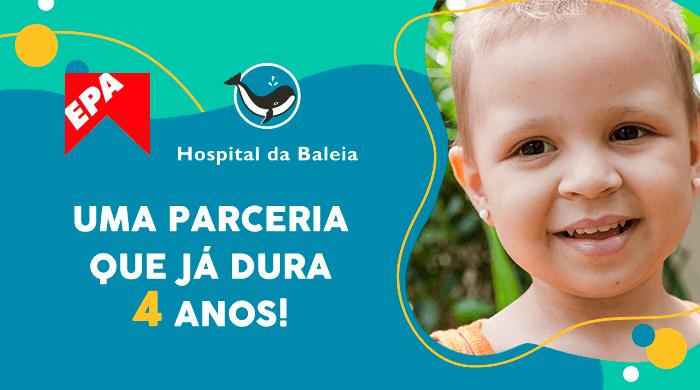 O EPA e o Hospital da Baleia agradecem a sua doação!