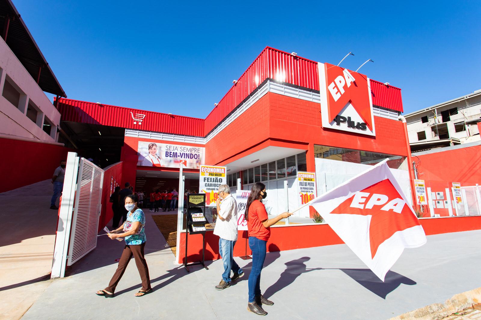 Mais uma loja Epa Plus de Presente para João Monlevade